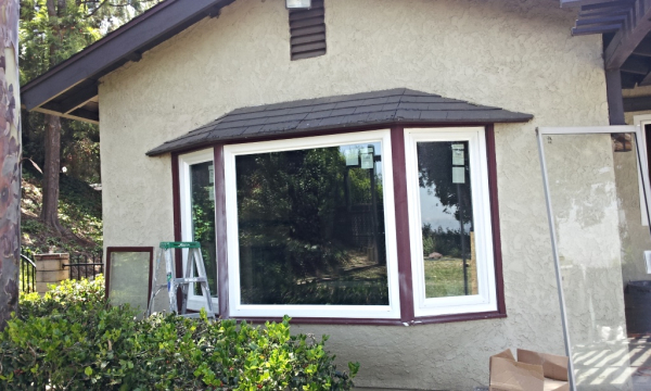 3 Panels Fixed Windows (Bay Window) After
